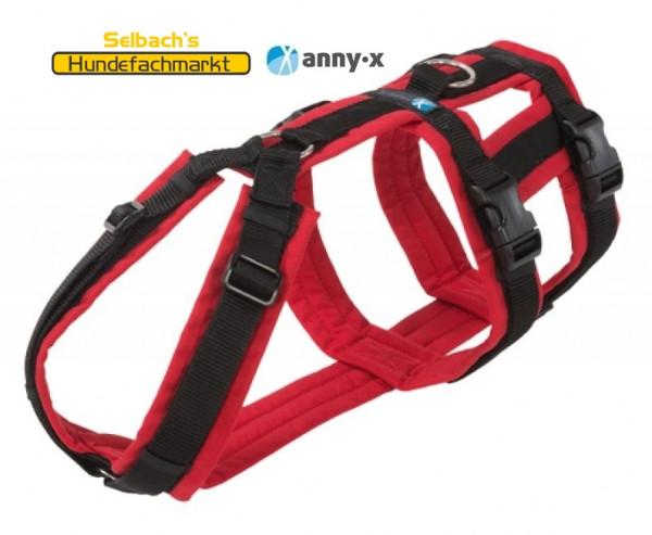 AnnyX Panikgeschirr Sicherheitsgeschirr in Rot