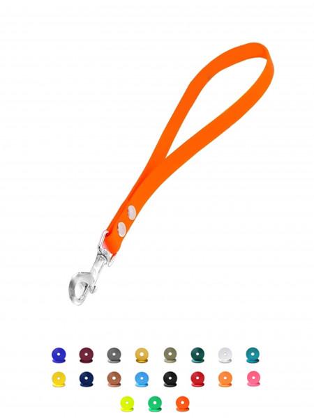 Biothane Kurzführer 25cm-50cm - Hundeleine - in 26 verschiedenen Farben