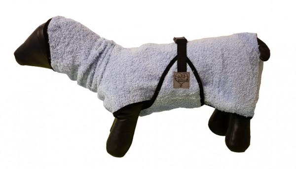 Bademantel aus reiner Baumwolle