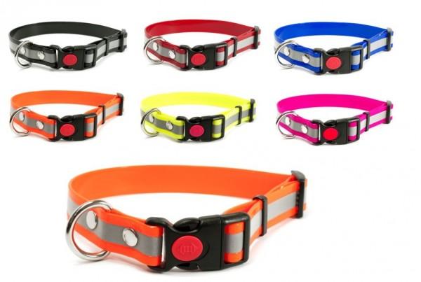 Reflex Mystique® Biothane Safety Klick Halsband
