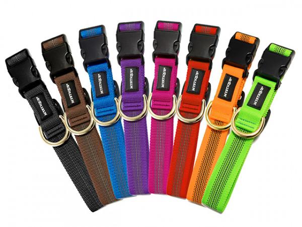 Mystique® gummiertes Hundehalsband