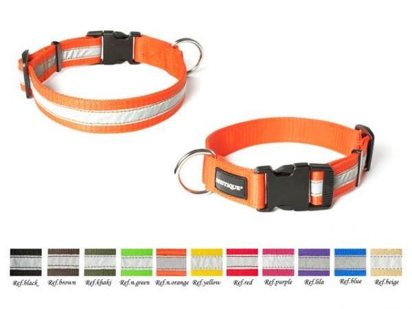 Mystique® Nylon Halsband Profi reflex  Gesamt