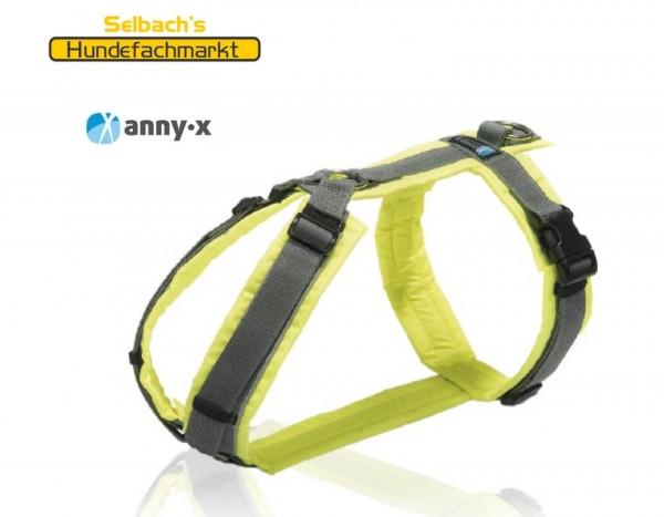 Brustgeschirr Protect in gelb von AnnyX