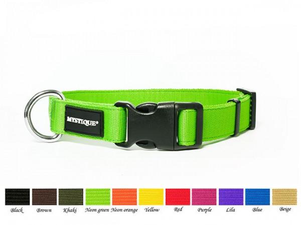 Mystique® Hundehalsband aus Nylon - 25mm-30mm
