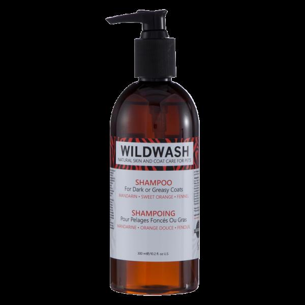 Wild Wash Dark & Greasy Shampoo für dunkles Fell