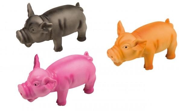 Latex Schwein Hundespielzeug