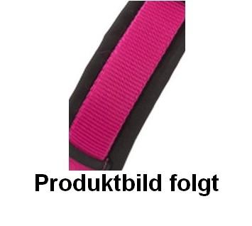 AnnyX gepolsterte Führleine Pink-Schwarz