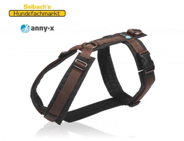AnnyX FUN Braun Hundegeschirr