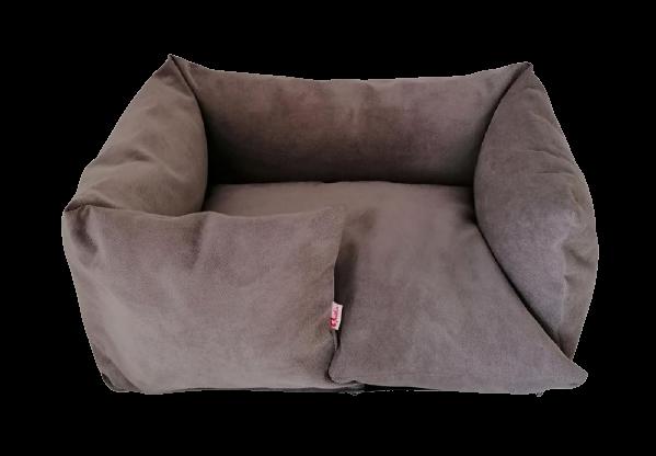 Hundebett Sofa - handgefertigt - Stone Grey