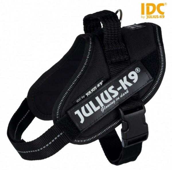 Julius-K9 IDC® Powergeschirr Mini-Mini und Mini in schwarz