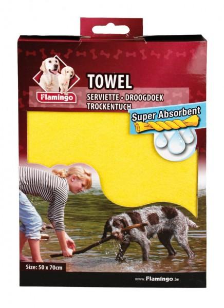 Hunde Trockentuch aus einer Spezialfaser