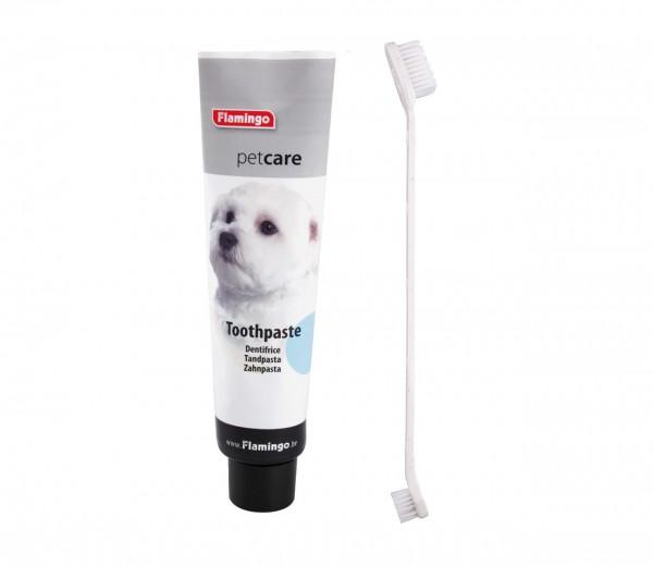 Petcare Zahnpasta mit Bürste