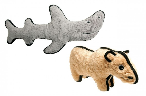 Hundespielzeug Eisbär und Hai