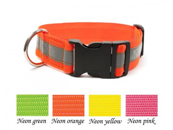 Mystique® Signalhalsband 40mm mit Klickverschluss