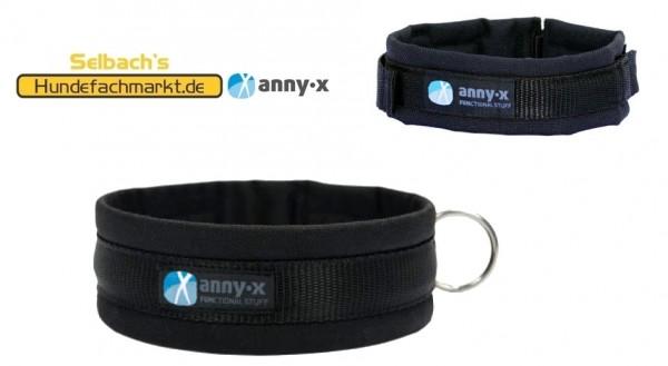 annyx Hundehalsband Steckhalsband schwarz