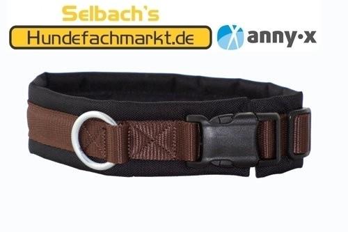 annyx Steckhalsband braun