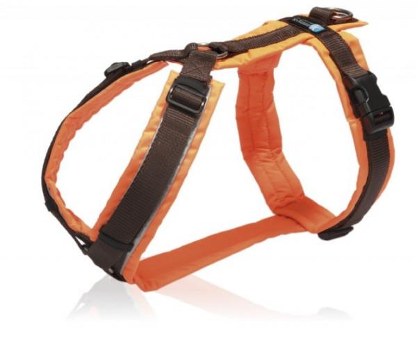 Brustgeschirr Protect in orange von AnnyX
