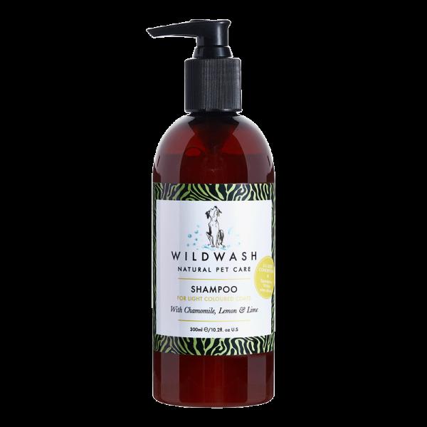 Wild Wash Light Colored Shampoo für helles Fell